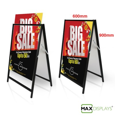 Corflute A-Frame signs